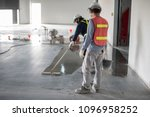 construction worker painting... | Shutterstock . vector #1096958252