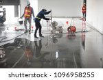 construction worker painting... | Shutterstock . vector #1096958255