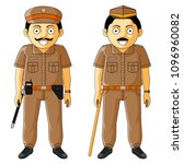 police  policeman   police... | Shutterstock .eps vector #1096960082