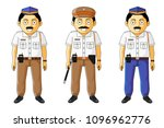 police  policeman   police... | Shutterstock .eps vector #1096962776