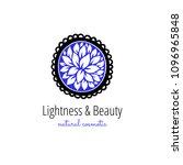 vector scandinavian logotype ... | Shutterstock .eps vector #1096965848