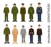 collection of russian and... | Shutterstock . vector #1096974335