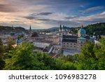 salzburg  austria. cityscape...   Shutterstock . vector #1096983278