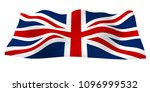 waving flag of the great... | Shutterstock . vector #1096999532