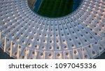 kiev ukraine may 12  aerial... | Shutterstock . vector #1097045336
