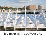 kiev ukraine may 12  aerial... | Shutterstock . vector #1097045342