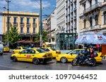 greece  athens  omonia square ... | Shutterstock . vector #1097046452