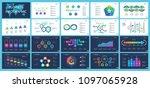 business inforgraphic design... | Shutterstock .eps vector #1097065928