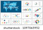 colorful training or planning... | Shutterstock .eps vector #1097065952