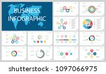 colorful planning or analysis... | Shutterstock .eps vector #1097066975