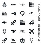 set of vector isolated black... | Shutterstock .eps vector #1097070446