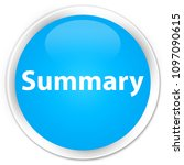 summary isolated on premium... | Shutterstock . vector #1097090615