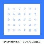 nature   earth minimalistic... | Shutterstock .eps vector #1097103068