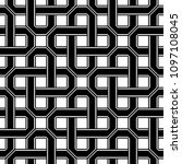 design seamless monochrome...   Shutterstock .eps vector #1097108045