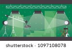 vector horizontal illustration... | Shutterstock .eps vector #1097108078