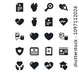 set of vector isolated black...   Shutterstock .eps vector #1097112026