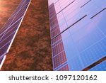 3d rendering solar power... | Shutterstock . vector #1097120162
