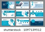 abstract presentation templates ... | Shutterstock .eps vector #1097139512