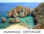 panoramic view  ponta da... | Shutterstock . vector #1097141228