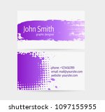 business card template   front...