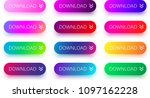 set of colorful download... | Shutterstock .eps vector #1097162228