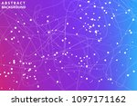 geometric graphic abstract... | Shutterstock .eps vector #1097171162
