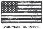 american flag.usa flag in... | Shutterstock .eps vector #1097201048