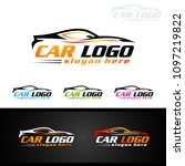 auto car logo for sport cars ... | Shutterstock .eps vector #1097219822