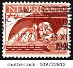netherlands   circa 1944  a... | Shutterstock . vector #109722812