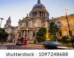 london  uk   july 15 2016   st. ... | Shutterstock . vector #1097248688