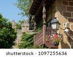 village museum at barcelona | Shutterstock . vector #1097255636