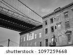 under the brooklyn bridge  new...   Shutterstock . vector #1097259668