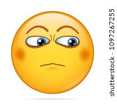 proud  serious  severe smiley.... | Shutterstock .eps vector #1097267255