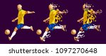 vector illustration soccer... | Shutterstock .eps vector #1097270648