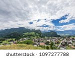 view of the alps mountains from ... | Shutterstock . vector #1097277788