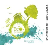 illustration environmentally... | Shutterstock . vector #109728266