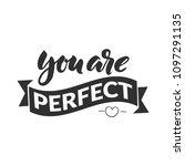hand drawn word. brush pen...   Shutterstock .eps vector #1097291135