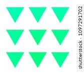 vector gradient reverse... | Shutterstock .eps vector #1097291702