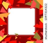 frame art colorful design...   Shutterstock .eps vector #1097314322