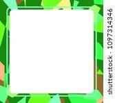 frame art colorful design...   Shutterstock .eps vector #1097314346