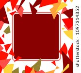 frame art colorful design...   Shutterstock .eps vector #1097314352