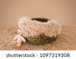 digital backdrop for newborn... | Shutterstock . vector #1097319308