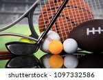 balls  sports equipment | Shutterstock . vector #1097332586