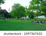 frankfurt am main  germany  9... | Shutterstock . vector #1097367632