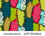 vector seamless pattern with... | Shutterstock .eps vector #1097394866