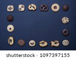 flat lay composition of... | Shutterstock . vector #1097397155