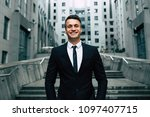 trading on the stock exchange... | Shutterstock . vector #1097407715