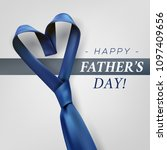 fathers day gift post greeting... | Shutterstock .eps vector #1097409656