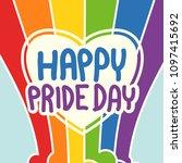 gay pride lgbt | Shutterstock .eps vector #1097415692