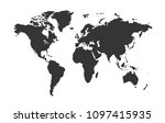 color world map  | Shutterstock .eps vector #1097415935